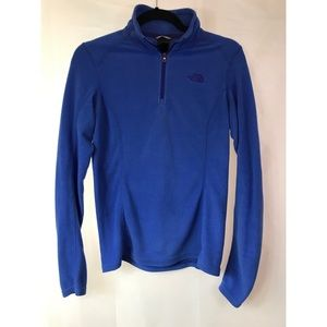 The North Face: Fleece Half Zip-up Sweater Size: S